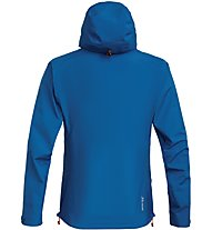 Salewa Sesvenna Active GORE-TEX - Hardshelljacke mit Kapuze - Herren, Light Blue/Red