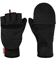 Salewa Sesvenna Fold Back - Fingerhandschuhe Skitouren, Black