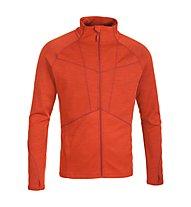 Salewa Sesvenna Merino - giacca in pile alpinismo - uomo, Orange