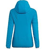 Salewa Sesvenna Ptc Alpha - Softshelljacke Skitouren - Damen, Light Blue/Grey