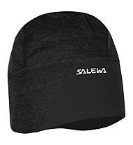 Salewa Sesvenna SW WO Beanie Berretto, Black
