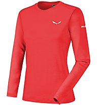 Salewa Sesvenna - Skitourenshirt - Damen, Light Red