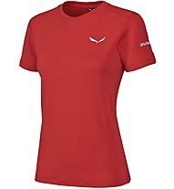 Salewa Sesvenna - kurzärmeliges Bergshirt - Damen, Red