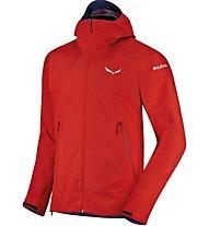 Salewa Sesvenna - giacca a vento alpinismo - uomo, Red