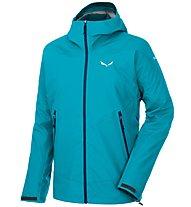 Salewa Sesvenna - giacca alpinismo - donna, Light Blue