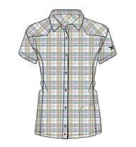 Salewa Shira DRY W S/S Shirt Camicia a maniche corte trekking donna, M Oriel Lullaby