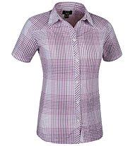 Salewa Shira DRY W S/S Shirt Camicia a maniche corte trekking donna, M Raiburn Malaga