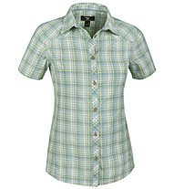 Salewa Shira DRY W S/S Shirt Camicia a maniche corte trekking donna, M Antermoia After Eight
