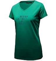 Salewa Slash Dri-Rel - T-shirt trekking - donna, Green