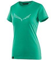Salewa Solid Dri-Release - T-Shirt Bergsport - Damen, Green