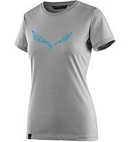 Salewa Solid Dri-Release - T-Shirt Bergsport - Damen, Grey