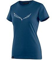 Salewa Solid Dri-Release - T-Shirt Bergsport - Damen, Blue