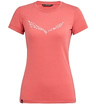 Salewa Solid Dri-Release - T-Shirt Bergsport - Damen, Light Red