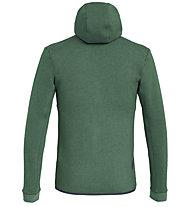 Salewa Solid Logo Dry - Fleecejacke mit Kapuze Trekking - Herren, Dark Green