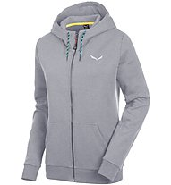 Salewa Solidlogo 2 Co - Freizeitjacke mit Kapuze - Damen, Grey