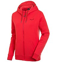 Salewa Solidlogo 2 Co - Freizeitjacke mit Kapuze - Damen, Red
