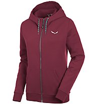 Salewa Solidlogo 2 Co - Freizeitjacke mit Kapuze - Damen, Dark Red
