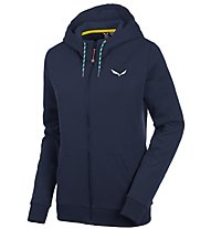 Salewa Solidlogo 2 Co - Freizeitjacke mit Kapuze - Damen, Blue