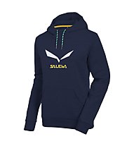 Salewa Solidlogo 2 CO Hoody Damen, Night Black