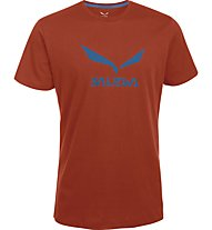 Salewa Solidlogo - T-Shirt Wandern - Herren, Orange
