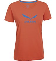 Salewa Solidlogo - T-Shirt arrampicata - donna, Orange