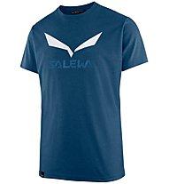 Salewa Solidlogo Dri-Release - T-shirt trekking - uomo, Blue