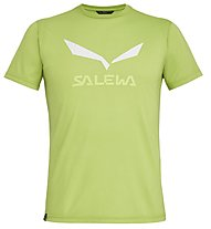 Salewa Solidlogo Dri-Release - T-shirt trekking - uomo, Light Green