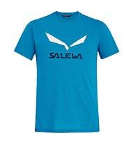 Salewa Solidlogo Dri-Release - T-shirt trekking - uomo, Light Blue