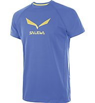 Salewa Solidlogo DRY T-Shirt arrampicata, Royal Blue