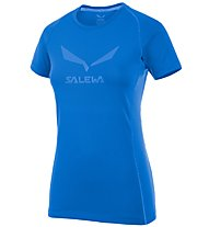 Salewa Solidlogo DRY T-Shirt Damen, Blue