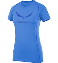 Salewa Solidlogo DRY T-Shirt Damen, Light Blue