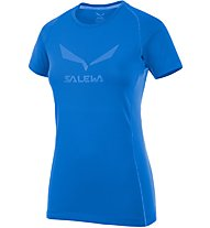 Salewa Solidlogo DRY - T-Shirt Wandern - Damen, Blue