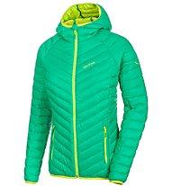 Salewa Sorega - giacca in piuma trekking - donna, Green