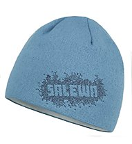 Salewa Stitchy Knit Beanie Berretto, Fiji Blue