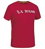 Salewa Temple Lion - T-shirt arrampicata - uomo, Red