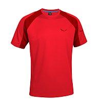 Salewa Tesido DRY T-Shirt, Bergrot