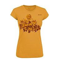 Salewa The Nugget T-shirt arrampicata donna, Honey