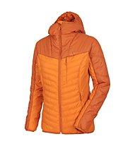 Salewa Theorem 3 PrimaLoft giacca donna, Burnt Orange
