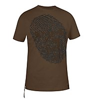 Salewa Trace T-shirt arrampicata, Turkish Coffee