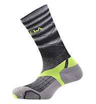 Salewa Trek Balance - Wandersocken - Kinder, Fade Black/Yellow
