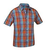 Salewa Triumph DRY AM Shirt S/S Camicia a maniche corte trekking, M Ailao Orange