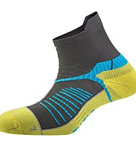 Salewa Ultra Trainer sock, Dark Grey/Honey