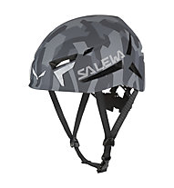 Salewa Vega - Casco arrampicata, Grey Camouflage