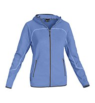 Salewa Vesuvian PL W Hood Jacket Giacca in pile donna, Caraibes