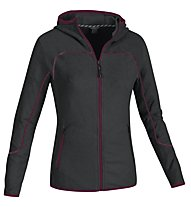 Salewa Vesuvian PL W Hood Jacket Giacca in pile donna, Carbon