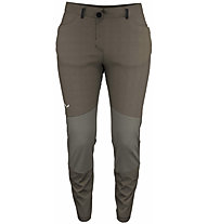 Salewa W Alpine Hemp Light - pantaloni lunghi alpinismo - donna, Brown