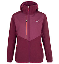 Salewa W Fedaia Alpine Wool Jkt - Kapuzenjacke- Damen , Pink
