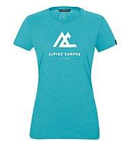 Salewa W Frames S/S - T-Shirt - Damen , Light Blue