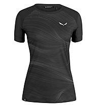 Salewa W Seceda S/S - T-shirt - Damen, Black