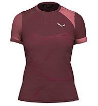 Salewa W Seceda S/S - T-shirt - Damen, Red/Pink